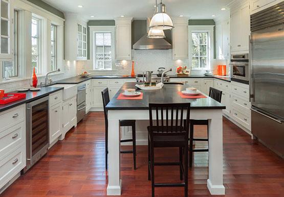 U Shapped Modular Kitchen